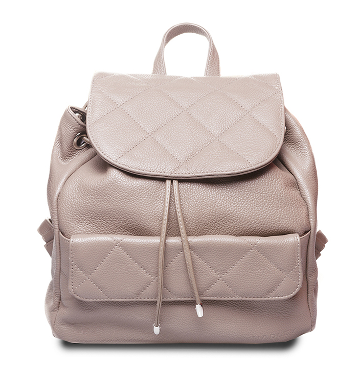 11f6dde1d7ba Hadley Biscuit Grey женский кожаный рюкзак