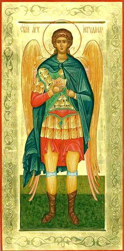 Иегудиил Архангел (мерная икона)