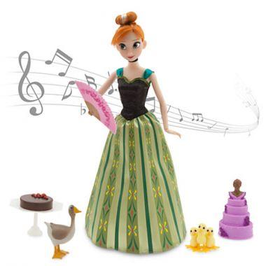 Кукла Анна поющая Дисней