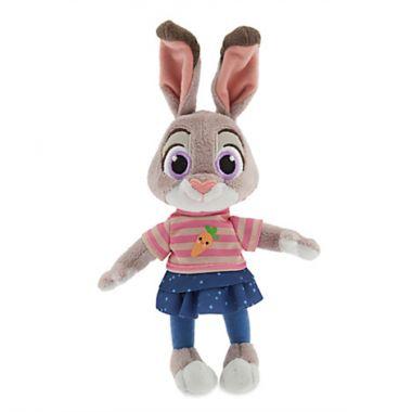 Джуди Хоппс малышка мягкая игрушка Зверополис Дисней