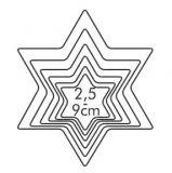 Tescoma Формочки - звёзды DELICIA 6 шт 631364