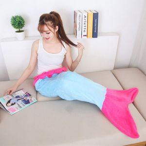 Одеяло - плед Хвост русалки для взрослых (Adults)