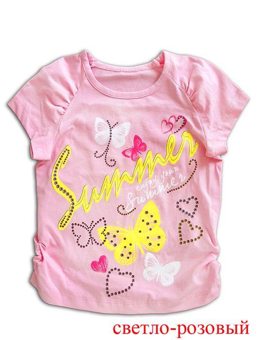 Нежная блуза для девочки Лето
