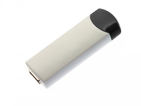 4GB USB-флэш корпус для флешки UsbSouvenir ROTATE-A, белая-черная