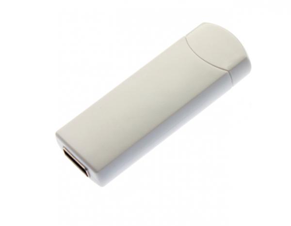 4GB USB-флэш корпус для флешки UsbSouvenir ROTATE-A, белая-белая