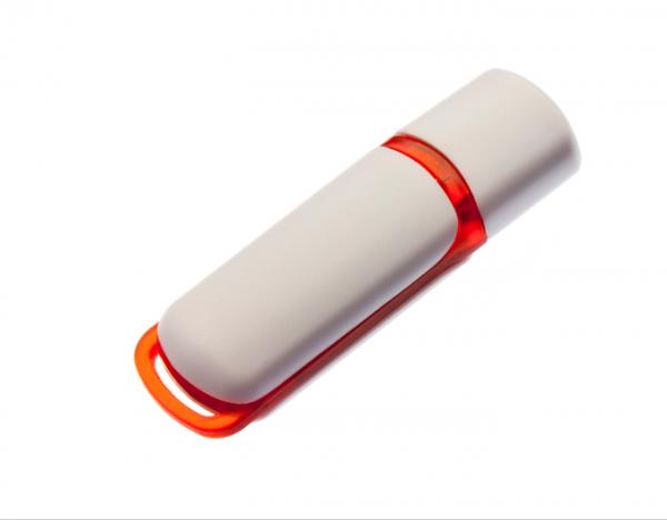 8GB USB-флэш корпус для флешки UsbSouvenir 235, белая-красная