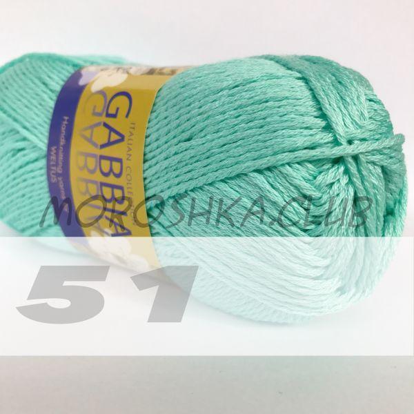 Мятный Gabbia (цвет 51)