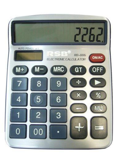 Калькулятор RSB RD-886 (12 разр.) настольный