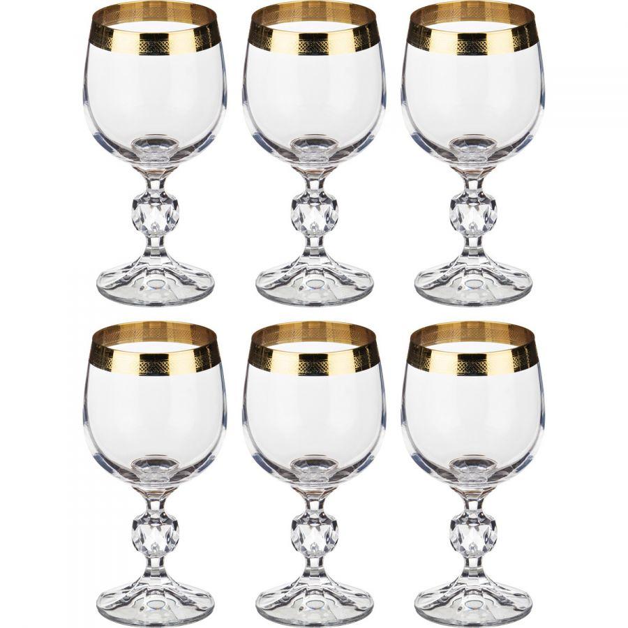 """Набор бокалов для вина """"Клаудия"""" 190 мл, h=15 см, 6 шт."""