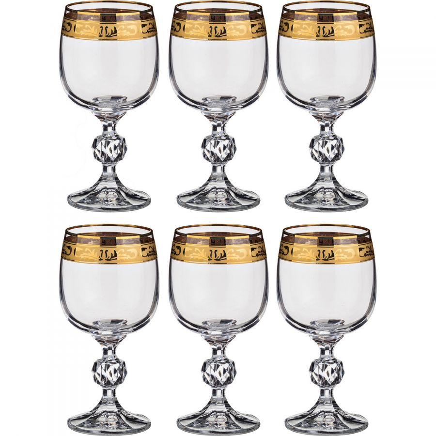 """Набор бокалов для вина """"Клаудия"""" 190 мл, h=14 см, 6 шт."""