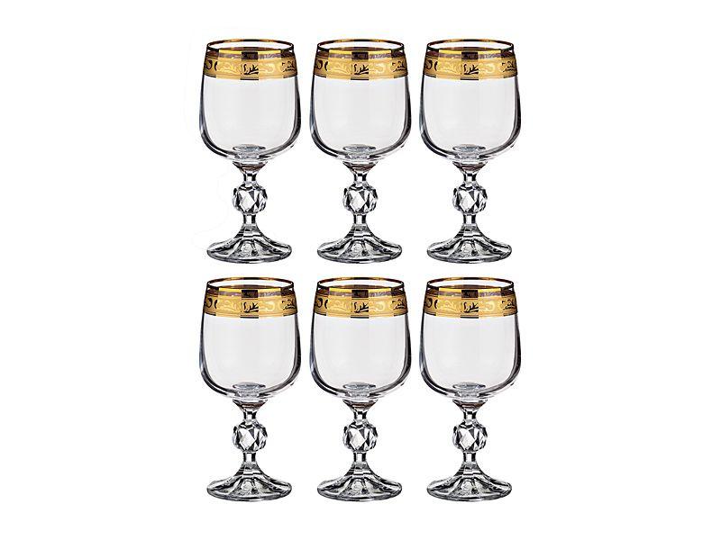 """Набор бокалов для вина """"Клаудия"""" 230 мл, h=15.5 см, 6 шт."""