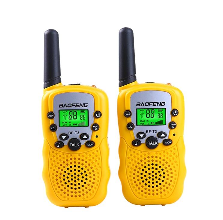Комплект раций Baofeng BF-T3 - желтые