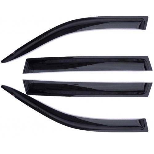Дефлекторы на боковые стекла AZARD ВАЗ 2108 /НАКЛАДНЫЕ/ скотч /к-т 2 шт./