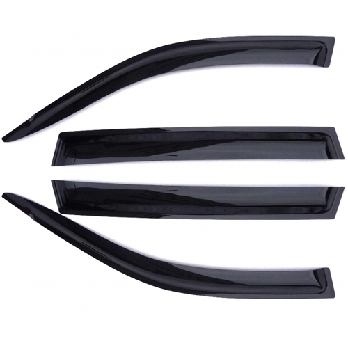 Дефлекторы на боковые стекла AZARD ВАЗ 2110/2112/ПРИОРА ХЕТЧБЕК/СЕДАН/НАКЛАДНЫЕ/ скотч /к-т 4 шт./