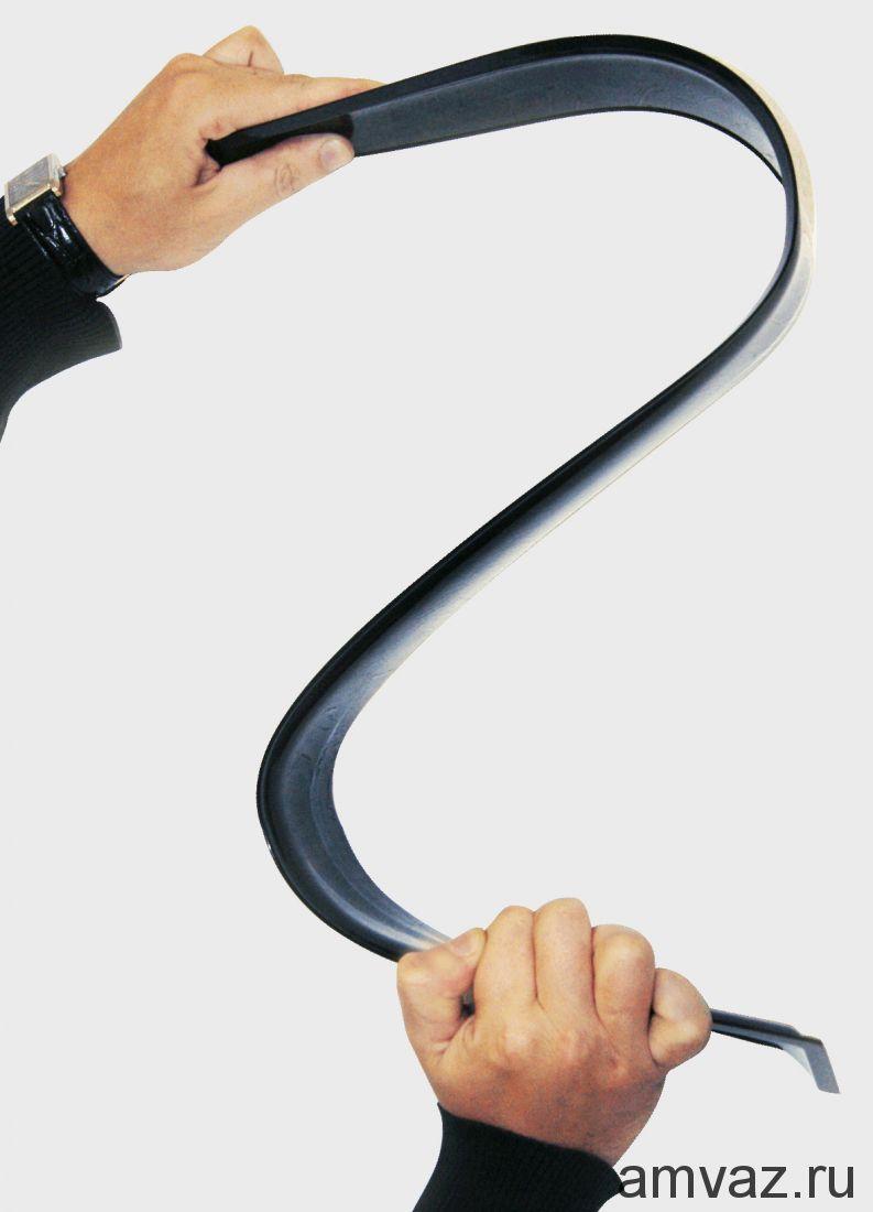 Дефлекторы неломающиеся на боковые стекла VORON GLASS серия Samurai FORD FUSION 2002-2012 /накладные/ скотч /к-т 4 шт./