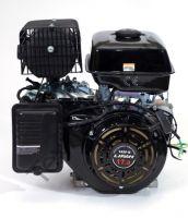 Lifan 192FD D25 (17 л. с.) четырехтактный бензиновый двигатель, мощностью 17 л. с., и диаметром выходного вала 25 мм. Применяется для установки на мотобуксировщики, мотосани, вездеходы.