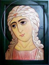 Ангел Златые власы (рукописная икона)