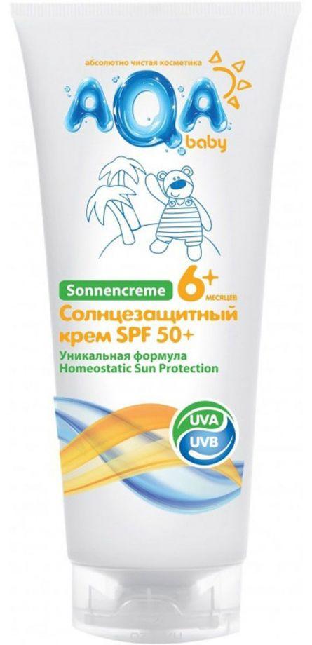 AQA baby Солнцезащитный крем, 75 мл.