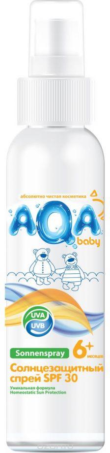 AQA Baby Солнцезащитный спрей SPF 30, 150 мл.