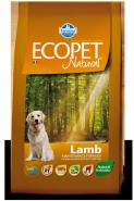 Ecopet Natural Lamb Medium Корм для взрослых собак с ягненком (2,5 кг)