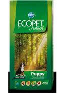 Ecopet Natural Puppy Maxi Корм для щенков, беременных и лактирующих сук крупных пород с курицей (12 кг)