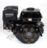 Lifan 170FD-R D22 (7 л. с.) двигатель 4х тактный с редуктором и автоматическим сцеплением, одноцилиндровый, OHV, горизонтальный вал 22 мм, воздушное охлаждение., мощность 7 л. с. Двигатель укомплектован ручным и электрическим стартером, датчиком давления
