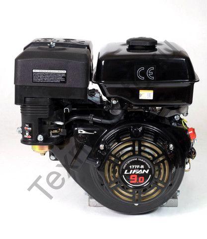 Двигатель Lifan 177FD-R D22 (9 л. с.) с редуктором и катушкой освещения 7Ампер (84Вт)