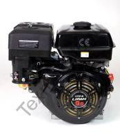Lifan 177F-R D22 (9 л. с.) двигатель 4х тактный с редуктором и автоматическим сцеплением, одноцилиндровый, OHV, горизонтальный вал 22 мм, воздушное охлаждение., мощность 9 л. с. Двигатель укомплектован ручным стартером, датчиком давления масла, катушкой о