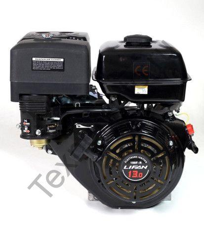 Двигатель Lifan 188F-R D22 (13 л. с.) с редуктором и катушкой освещения 3Ампер (36Вт)