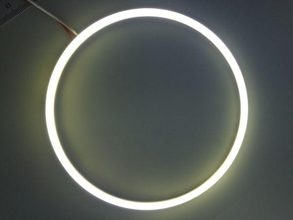 Светодиодные дневные ходовые огни — Ангельские глазки белого цвета 130 мм. 1шт.