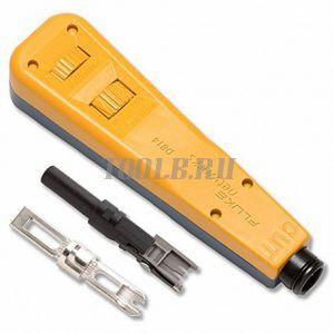 Fluke Networks 10055503 - инструмент для набивки кросса D814 с лезвием BIX и Eversharp 66/110