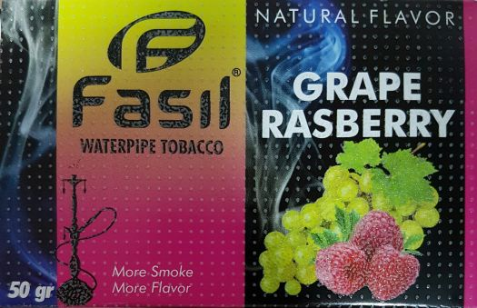 Табак для кальяна Fasil - Grape-Rasberry (Виноград-Малина)