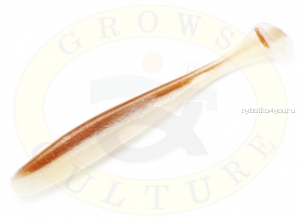 "Виброхвост Grows Culture Diamond Easy Shiner 4.5"" 11,5 см/ упаковка 5 шт/ цвет: 412"