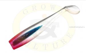 "Виброхвост Grows Culture B6LAB New Shiner 3"" 7,5 см/ упаковка 5 шт/ цвет: 009"