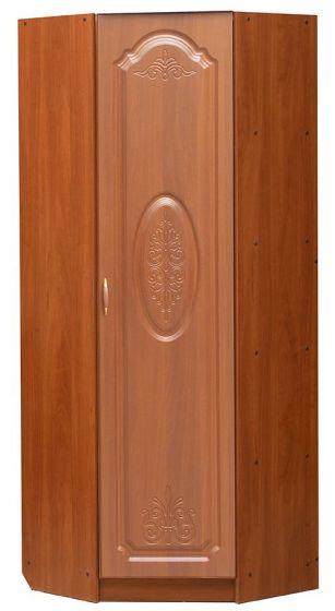 Шкаф  1 дверный угловой с полками и штангой (только правый)   Модуль 09