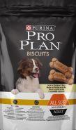 Pro Plan Biscuits Light/Sterilised Лакомство диетическое для собак с курицей и рисом (400 г)