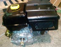 Двигатель Lifan 190F-R D22 (15 л. с.) с редуктором и катушкой освещения 7Ампер (84Вт)