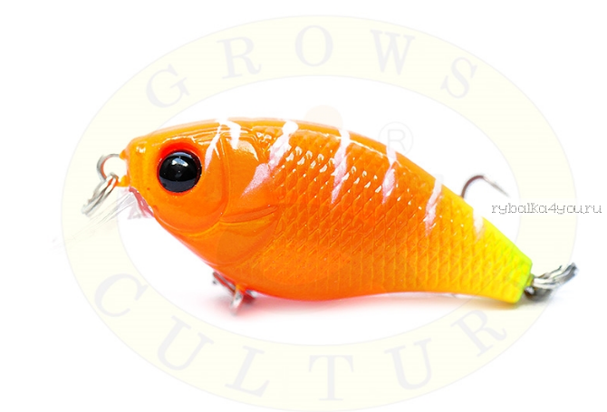 Воблер Grows Culture Chubby 38F 38мм/ 4 гр/заглубление: 0,6-1м/ цвет:Q5