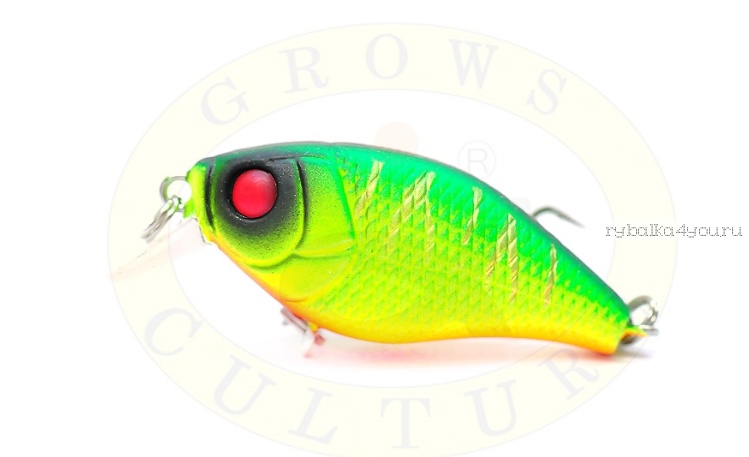 Воблер Grows Culture Chubby 38F 38мм/ 4 гр/заглубление: 0,6-1м/ цвет:Q8