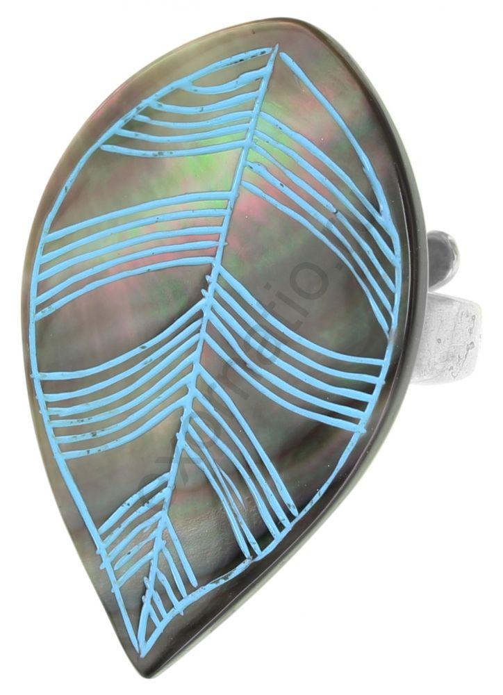 Кольцо Nature Bijoux 19-22455. Коллекция Bluebird
