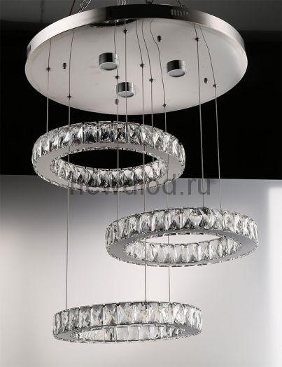 Хрустальная светодиодная люстра 110Вт DW-8822