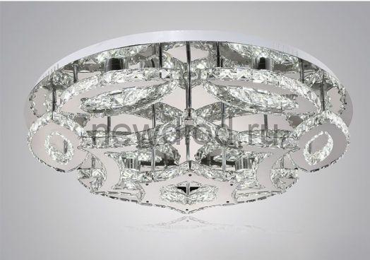 Хрустальная светодиодная люстра 155Вт DW-8783