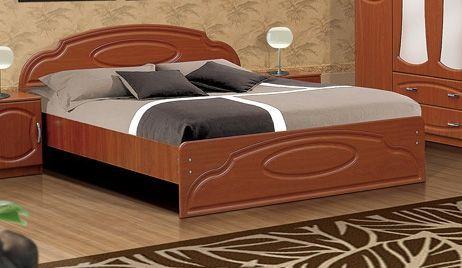 Кровать без ящиков Мечта  МДФ глянец