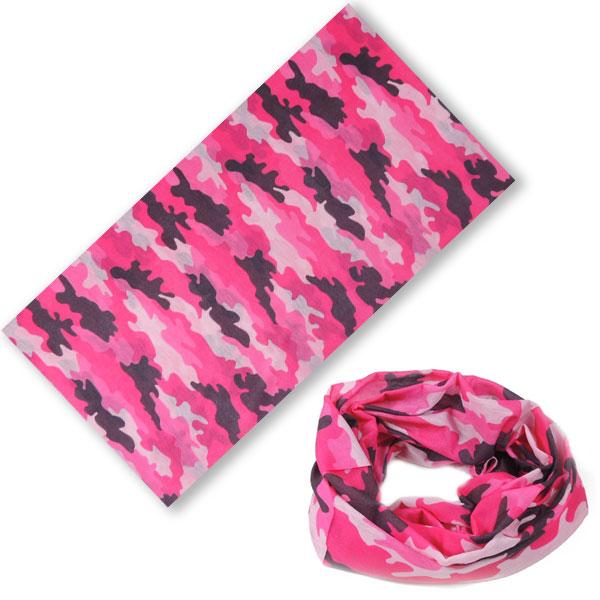 Бандана трансформер - камуфляж Pink Camo