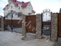 Въездные кованные ворота