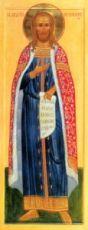 Андрей Смоленский (мерная икона)