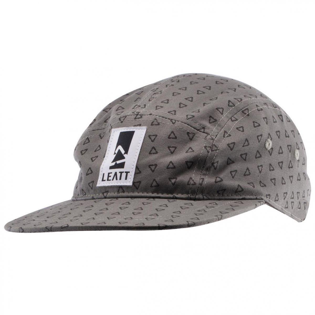 Leatt - 2017 Cap Camper бейсболка, черно-серая