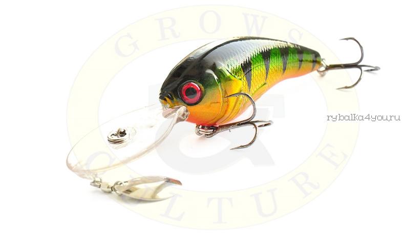 Купить Воблер Grows Culture Jack 70F 70 мм/ 15 гр/заглубление: 1 - 6 м/ цвет: Q4