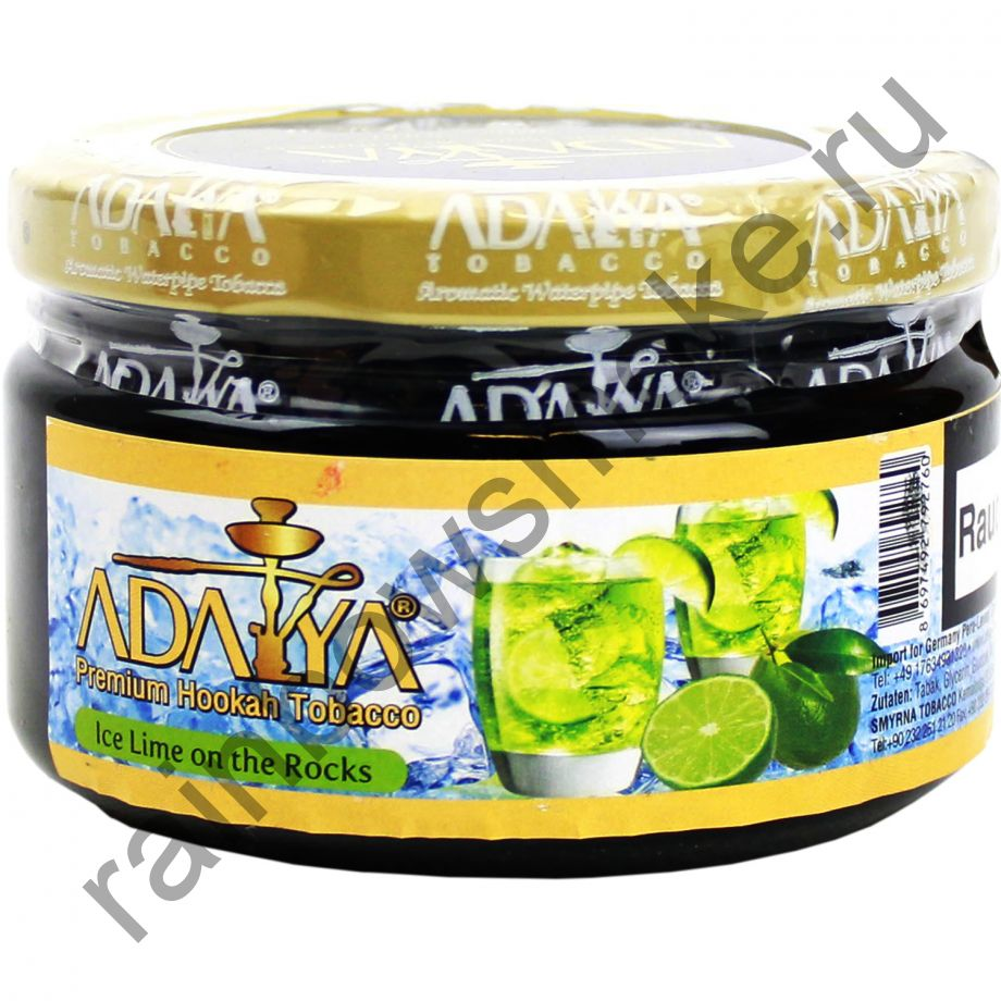 Adalya 250 гр - Ice Lime On The Rocks (Ледяной Лайм)