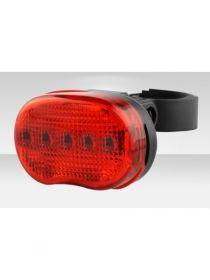 Задний фонарь для велосипеда 5 LED 7 см.